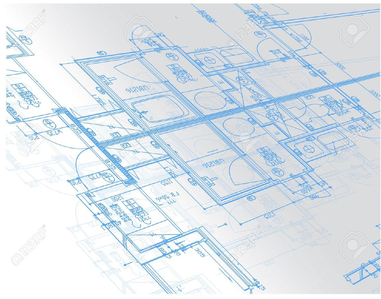9845967 sample of architectural blueprints over a light gray 9845967 sample of architectural blueprints over a light gray background blueprint stock vector malvernweather Gallery